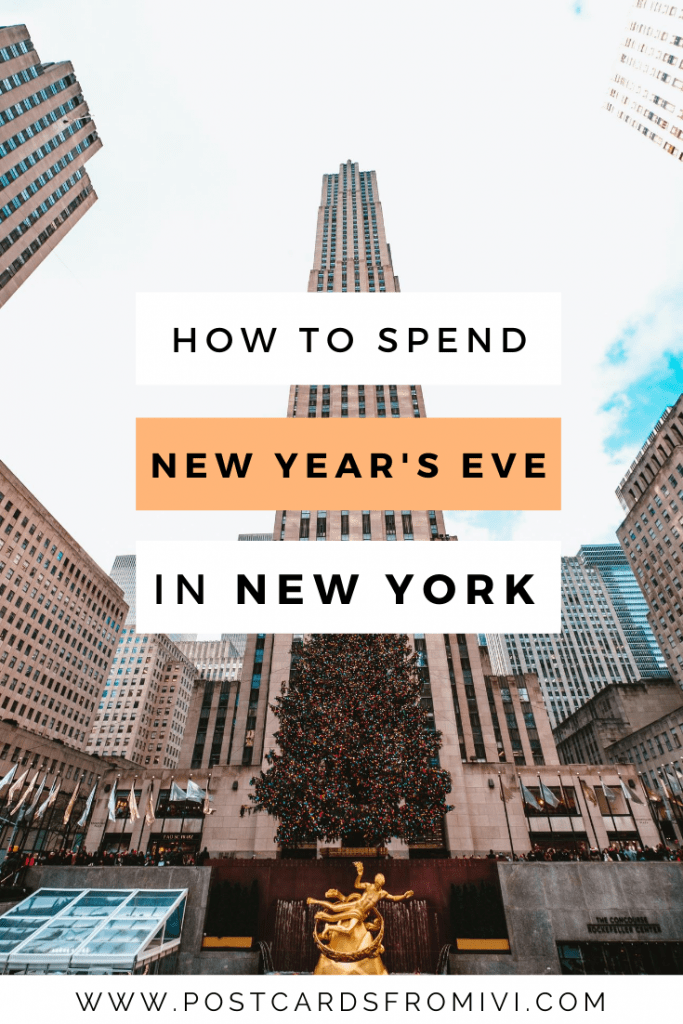 How to spend New Year's Eve in New York