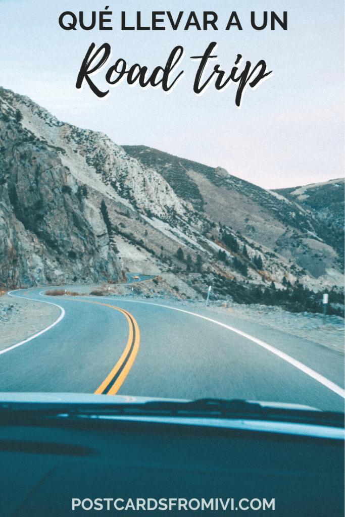 Qué llevar en un viaje en auto, todo lo que no te puede faltar