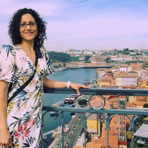 Bridge in Porto, Portugal