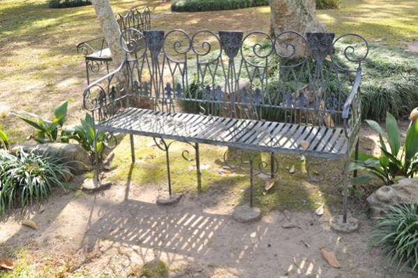 Natchitoches Historic Bench