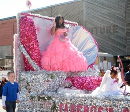 Getaway-Pink-Princess-on-Float