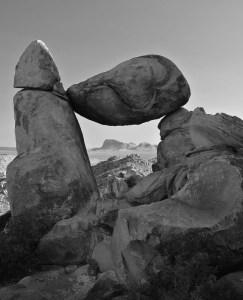 Balanced Rock - Big Bend National Park - 2012