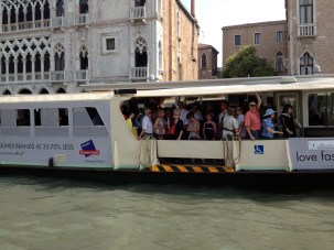 Venetian metro - the vaporetto