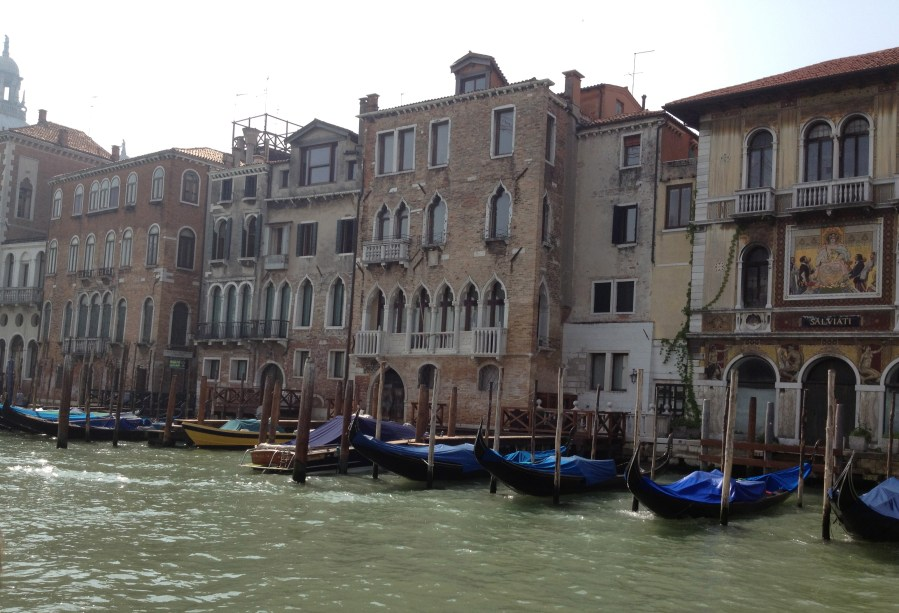 The view on the Grand Canal - bellissimo!