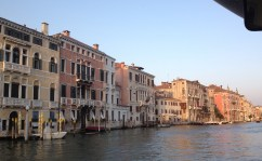 View along the Grand Canal...