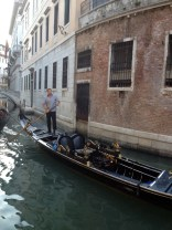 Traversing Venice by water...wow!