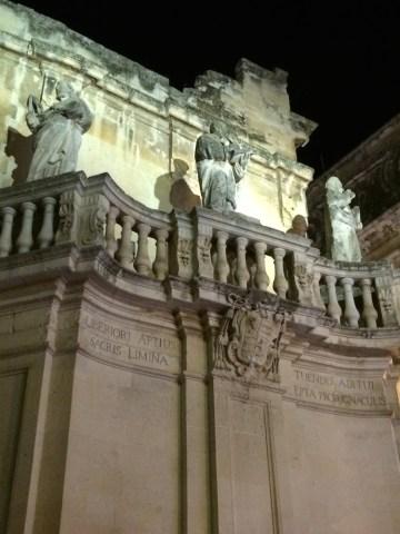 Evening passeggiata in Lecce