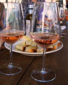 Puglia vino rosato