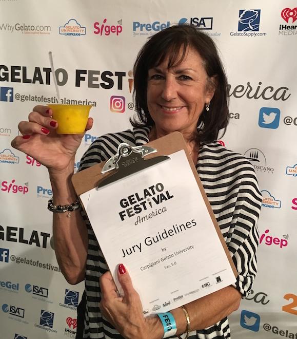 Gelato - V judge w gelato