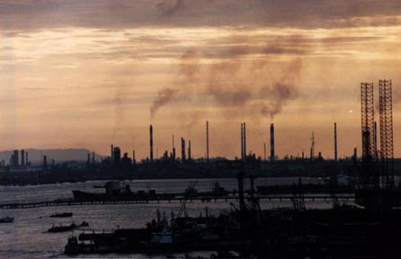Industrial Pollution In Singapore Images Of The Sky