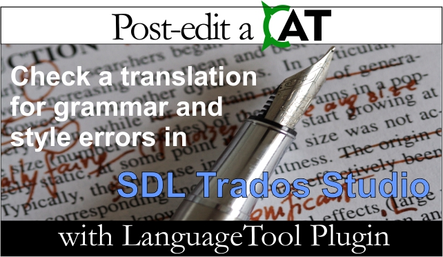 LanguageToolPlugin do SDL Trados Studio