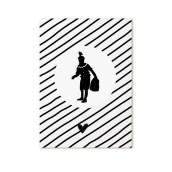 Minikaart Piet Zwart Wit van Zoedt