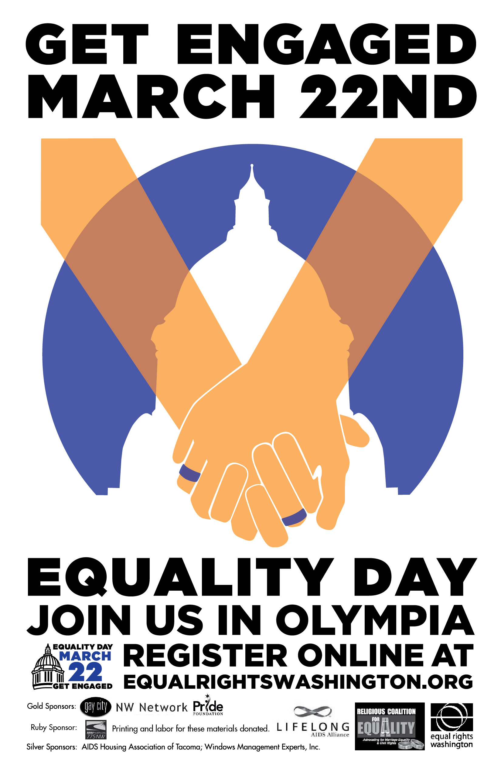 Poster a Week Free Posters Online - This Week: Equality Day, Event Poster
