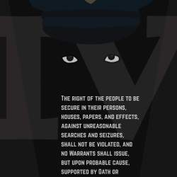 Poster a Week Free Posters Online - This Week: Fourth Amendment