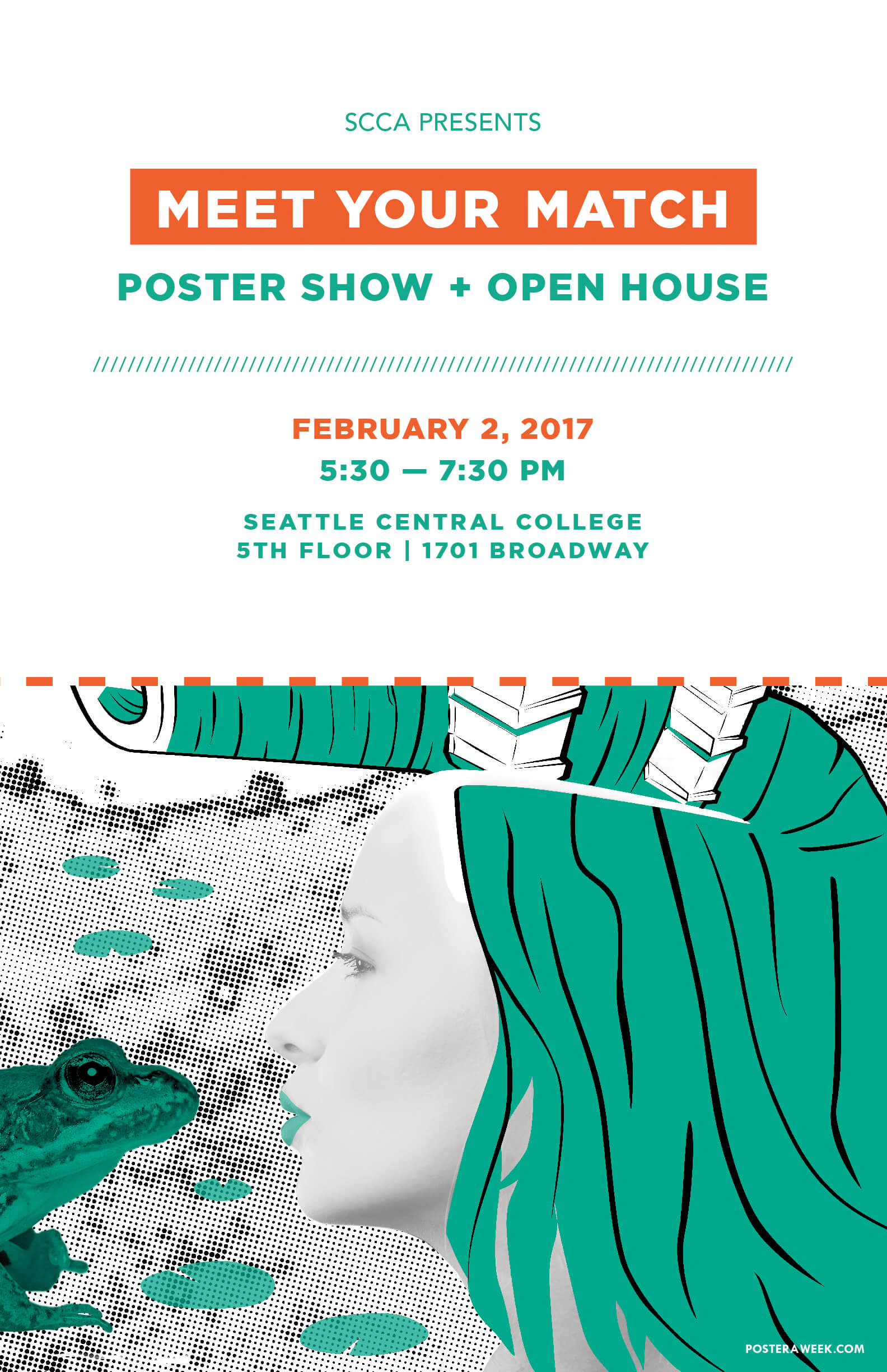 Poster a Week Free Posters Online - This Week: SCCA Meet Your Match Poster