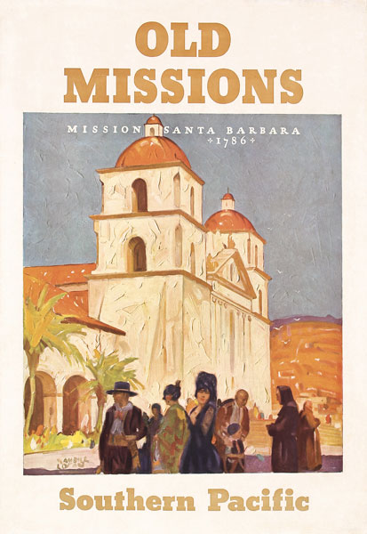 Southern Pacific - Old Missions, ca. 1936