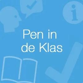 Pen in de klas