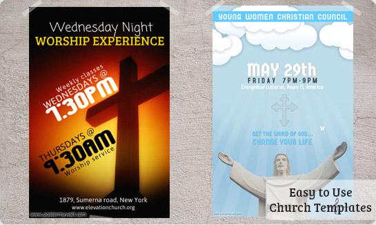Christian Flyer Templates Free. worship church christian flyer ...