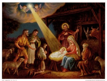 heilige nacht fine art print nativity scene art prints and posters