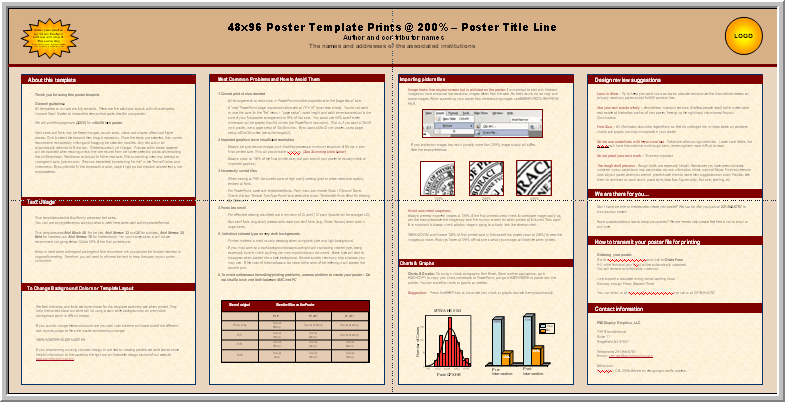 free powerpoint scientific poster templates