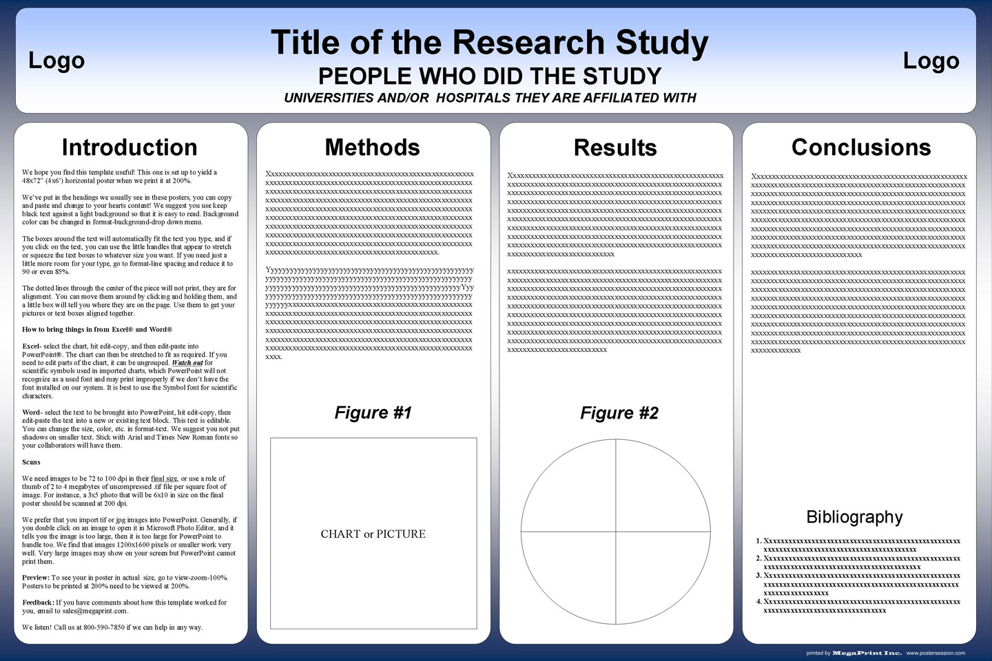 free powerpoint scientific research