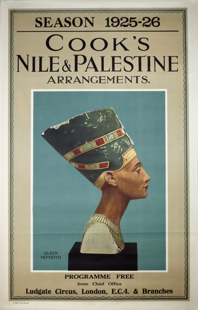 Original Vintage Poster Cook S Nile Amp Palestine For