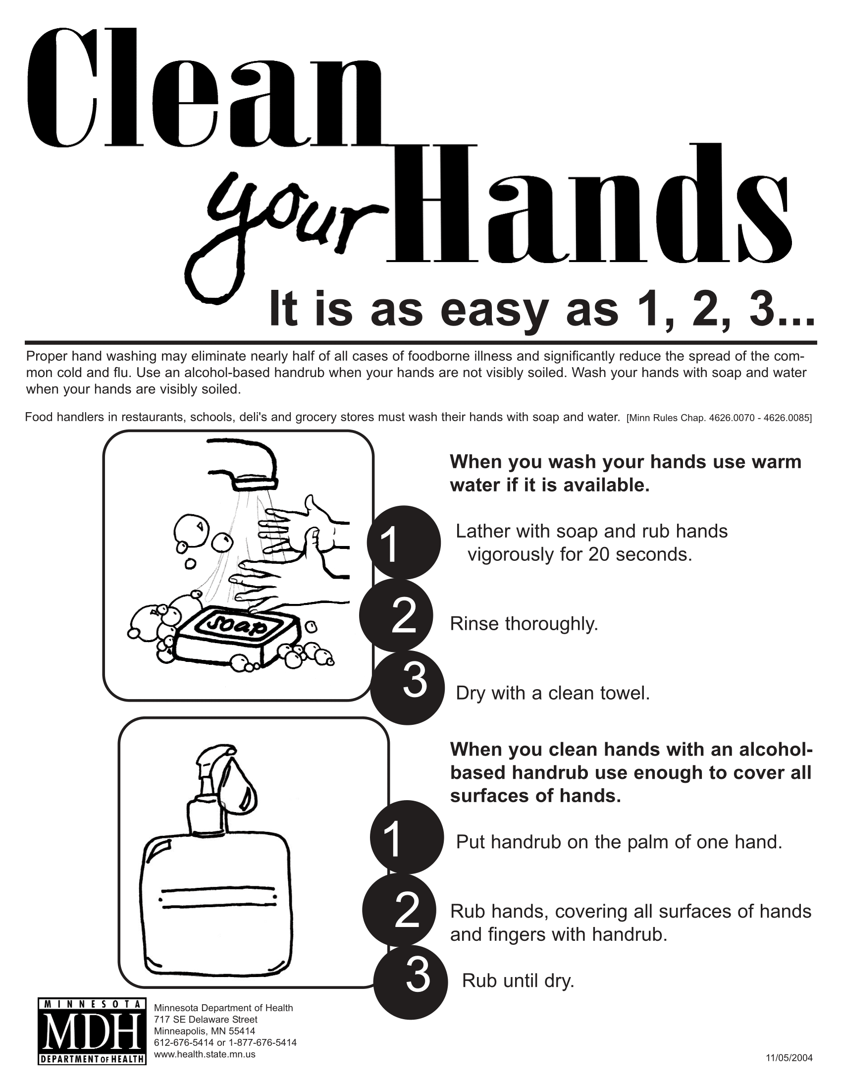 Hand Hygiene Amp Wash Your Hands Posters
