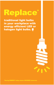 Save Energy Posters Poster Template