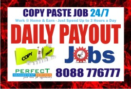 Copy paste Job | Data entry Job | 1082 | Work Daily Earn Daily | | free Classified | Free Advertising | free classified ads