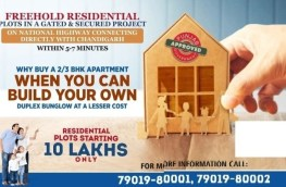 Freehold residential plots with immediate Possession near Chandigarh, | free Classified | Free Advertising | free classified ads
