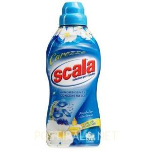 SCALA Ammorbidente Carezze al Fiordaliso e Gardenia concentrato, 750 ml