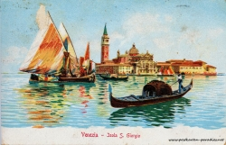 Venedig 1908 Insel San Giorgio