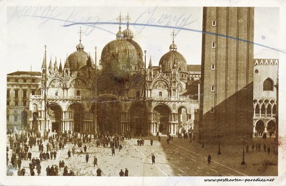 Venedig, Markusplatz 1902