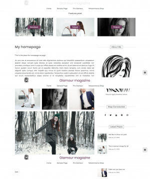 page-as-homepage
