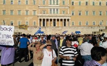 Σύνταγμα, Τετάρτη απόγευμα: Η πλατεία ήταν…