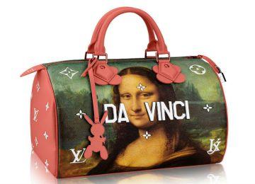 Θα αγοράζατε μία τσάντα αξίας 5.000 ευρώ με τη Mona Lisa και υπογραφή Jeff Koons;
