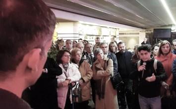 Διάλογος του Κώστα Μπακογιάννη με τους κατοίκους του Πεδίου του Άρεως