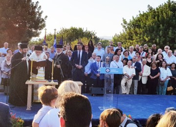 Ορκίστηκε ο Κώστας Μπακογιάννης νέος Δήμαρχος Αθηναίων