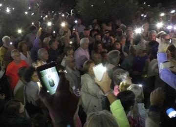 Φωτίζουμε το Πεδίο του Άρεως 27 Σεπτεμβρίου 2017, το βράδυ που άλλαξε την πορεία του Πάρκου
