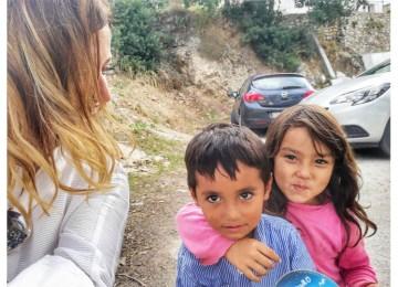 Τα μάτια των παιδιών στον καταυλισμό της Σάμου