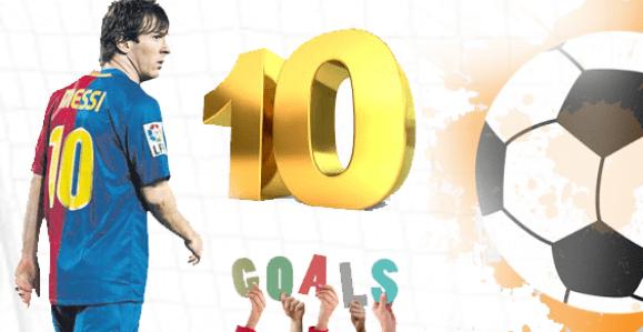 أفضل 10 أهداف في التاريخ