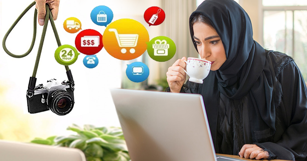 العمل من المنزل للنساء في السعودية