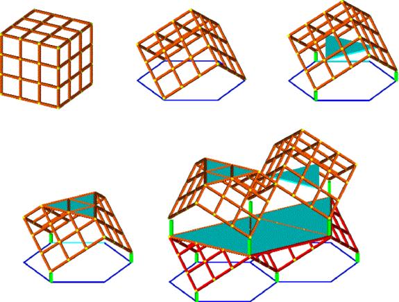 Cube on Vertex