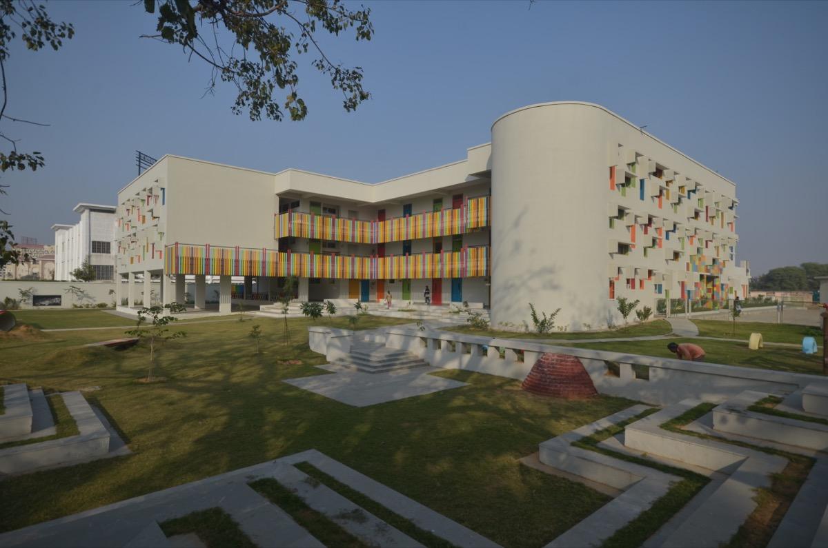 Modern Public School at Bhiwadi by AUm Architects