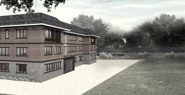 ICIMOD Annexe Building by Horizon Design Studio - 10 - External CGI of proposed building