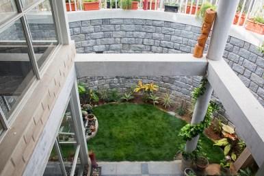 Hamsa Prasanna House at Bangalore by Biome Environmental Solutions