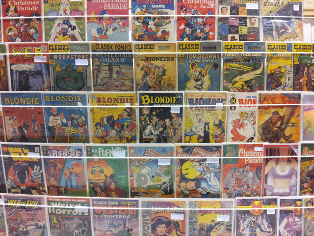 Wall of Comics