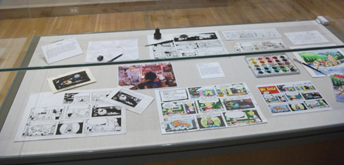 A display of the artistic process that brings you Hi and Lois.