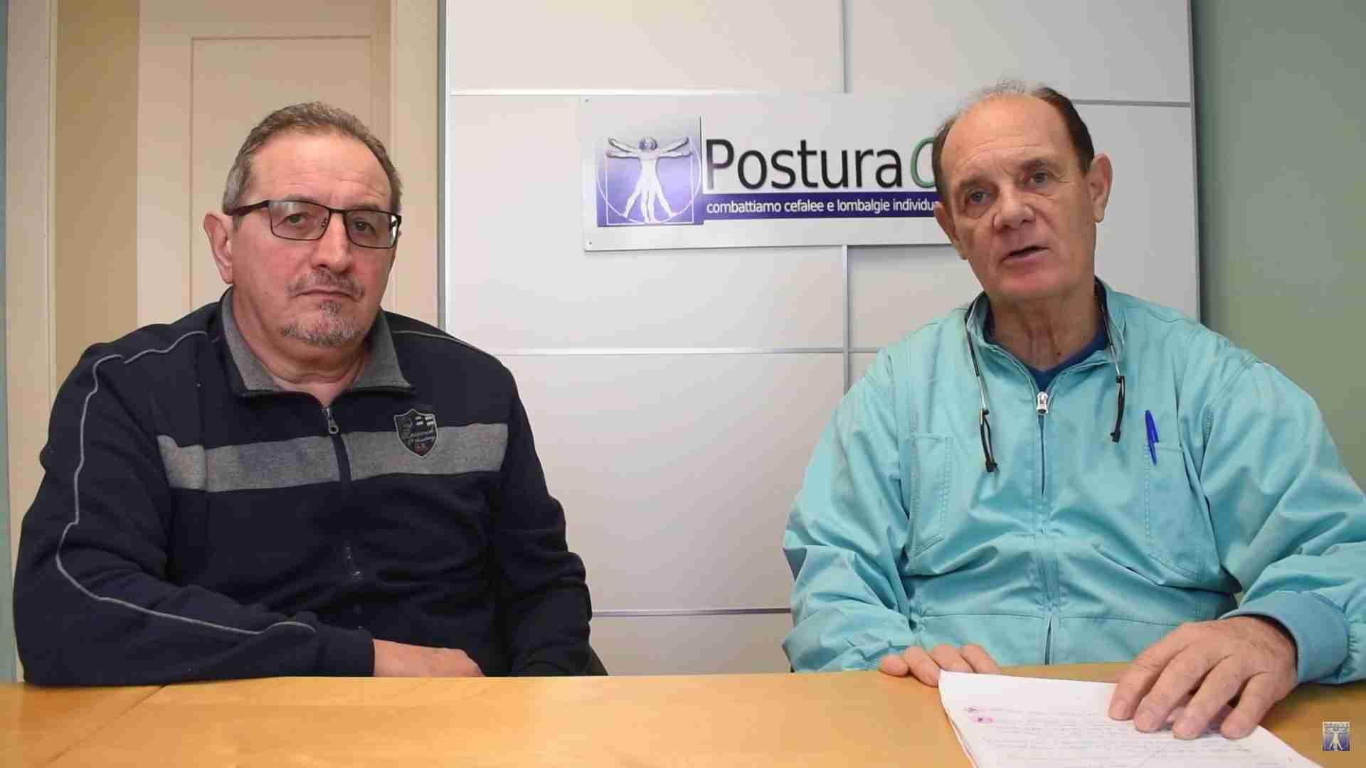 Testimonianza di Roberto Manfredi guarito da dolori al collo cronici