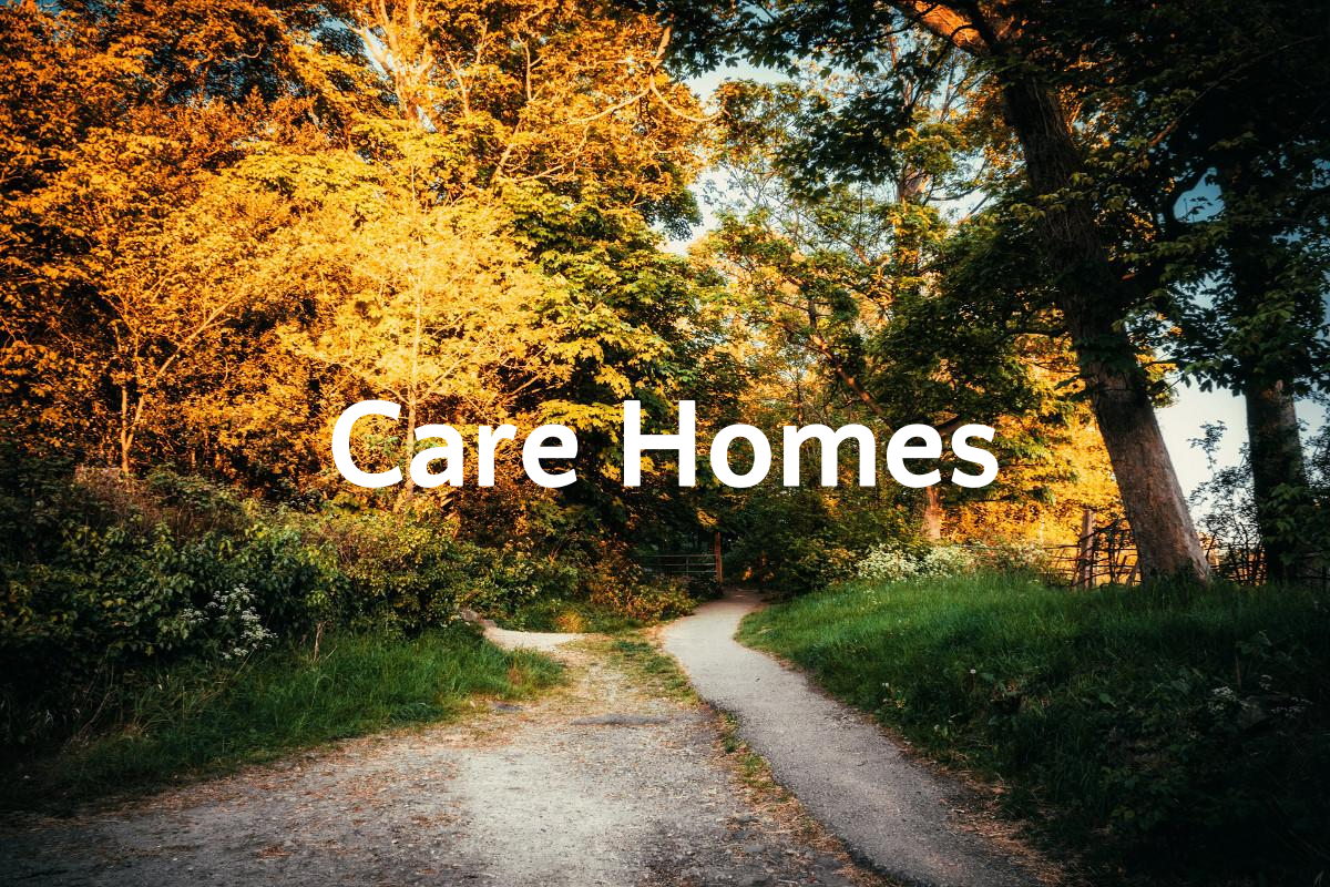 Care Homes banner